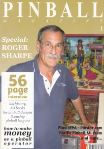 Pinball Magazine issue 1 featured Roger Sharpe