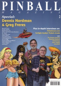 Pinball Magazine issue 2 with Greg Freres and Dennis Nordman
