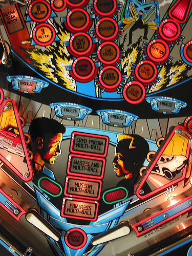 Demolition Man pinball photo