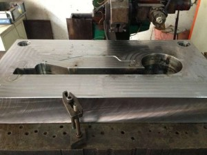one aluminium mould is good for 50,000 ramps