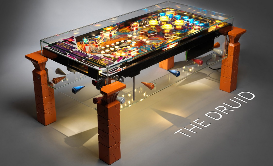 pinball machine into coffee table 2