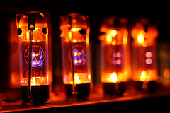 Incandescent light, like analog soud, is often warmer