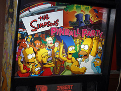 simpsons pinball photo