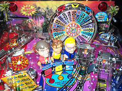 Wheel of Fortune pinball photo