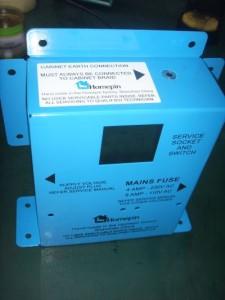 mains switch box homepin