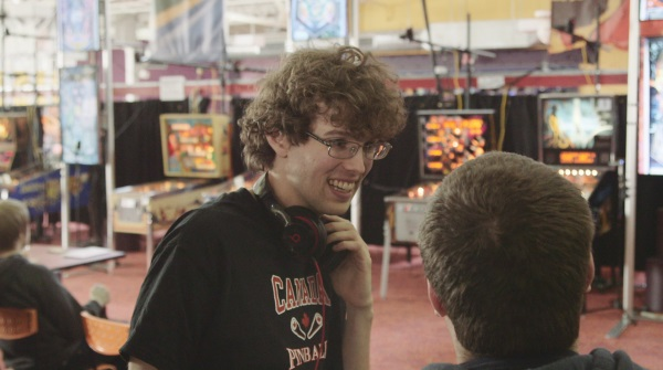 Robert with the pinball community at a PAPA tournament