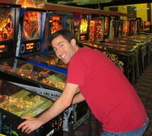 Adam Playing Pinball